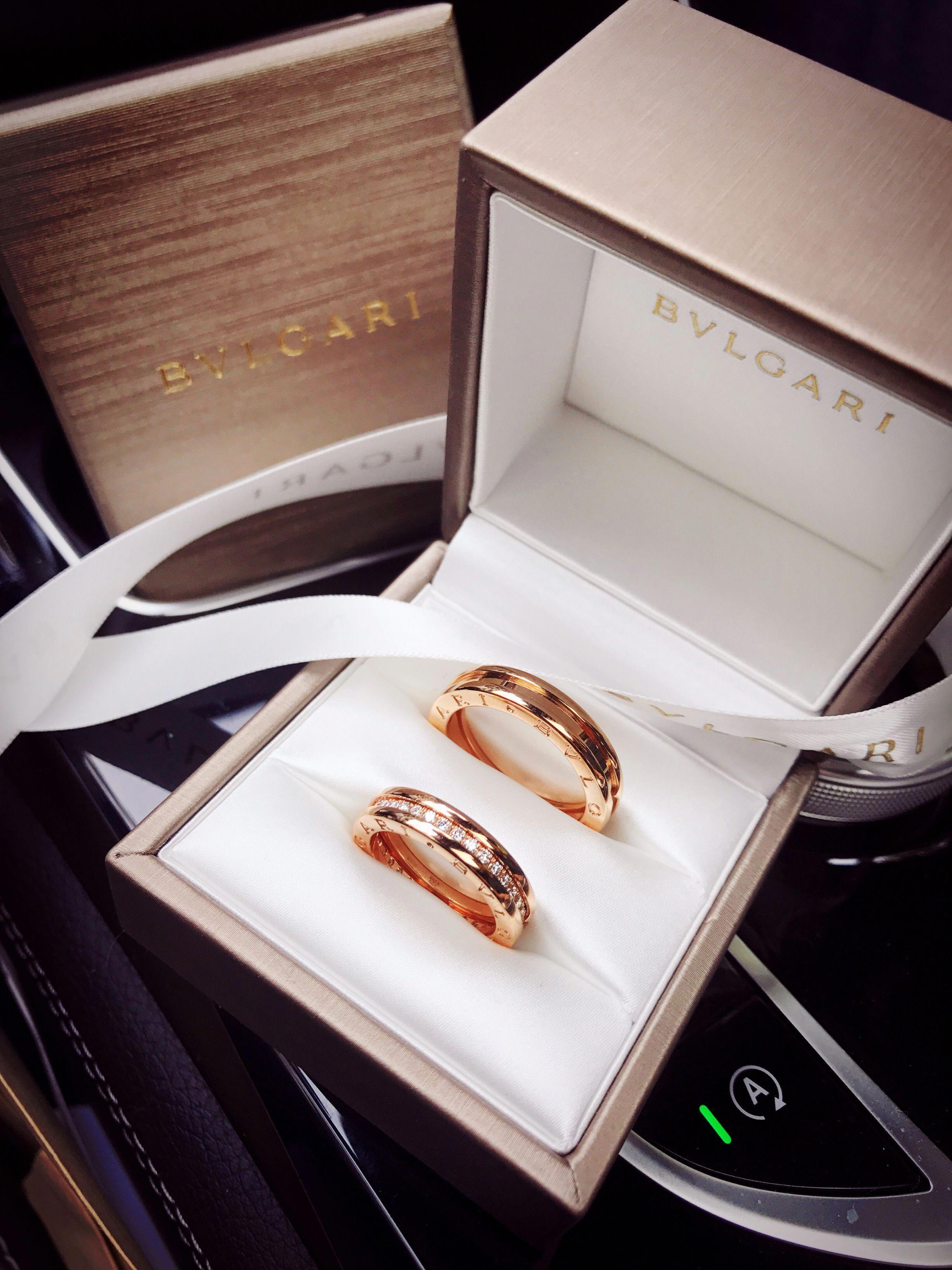 Bulgari, Diamond Engagement Ring Settings